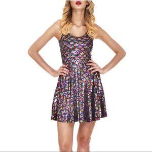 Dresses & Skirts - Multicolor Mermaid Shiny Fish Scale Dress 4X
